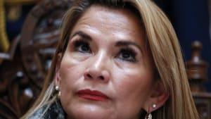 Boliviens Präsidentin hat sich mit dem Coronavirus infiziert