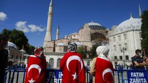 Tag der Entscheidung für die Hagia Sophia - Euronews am Abend 10.07.