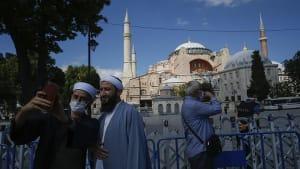 Istanbul: Hagia Sophia ist nun für Besucher geschlossen