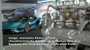 Der Lamborghini Sián Roadster - Das Exterior Design