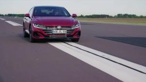 """Der neue Volkswagen Arteon - Neue Assistenzsysteme - """"Travel Assist"""" – bis 210 kmh assistiert Fahren"""