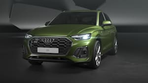 Das Design des Audi Q5 Animation