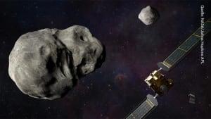 NASA: Raumsonde soll erdnahen Doppel-Asteroiden von seiner Flugbahn ablenken