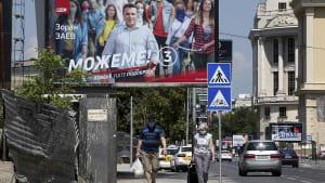 EU - das Wahlthema der Nordmazedonier