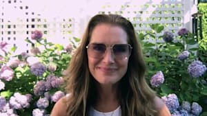 Brooke Shields on sharing workouts with fans