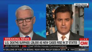 CNN journalist slam's Trump White House staff