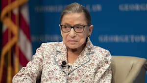 Ruth Bader Ginsburg hospitalized