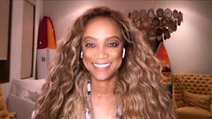 'DWTS' host Tyra Banks shows her best dance moves