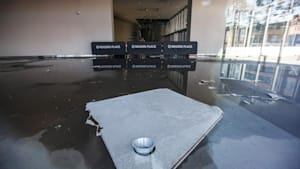 Thunderstorm Floods Home Of Edmonton Oilers