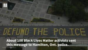Police Investigating Black Lives Matter Painting