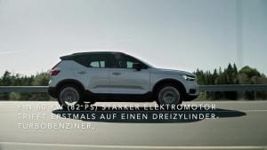 Doppelte Kraft, mehr Effizienz - Volvo XC40 jetzt mit Plug-in-Hybridantrieb im Handel