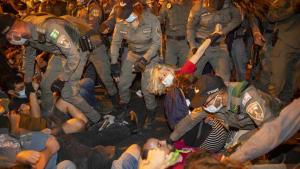 [CDATA[Mehrere Demonstranten bei neuen Protesten gegen Netanjahu festgenommmen]]