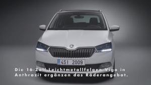 Motorenanpassung und neue Räder für den ŠKODA FABIA