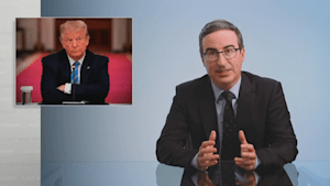John Oliver says Trump is a 'powerful idiot' for spreading misinformation about the coronavirus