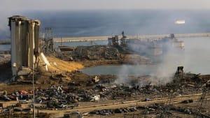 """Beirut """"wie Hiroshima"""" - Gouverneur kann Tränen nicht zurückhalten"""
