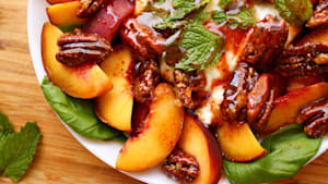 Peach & Burrata Caprese Is THE Salad Of The Summer