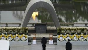 75 Jahre Hiroshima: Japan gedenkt der Opfer