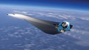 Virgin Galactic und Rolls Royce planen ein Mach-3-Passagierflugzeug