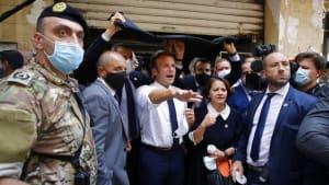 """Politische Libanon-Mission: Macron fordert in Beirut """"Dialog der Wahrheit"""""""