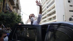Visite in Beirut: Macron kündigt Hilfskonferenz an und fordert Reformen