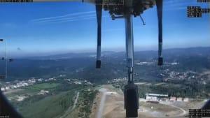 Mit Drohnen nur halb soviel Waldbrände