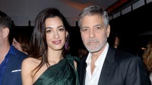 George und Amal Clooney spenden für die Opfer in Beirut