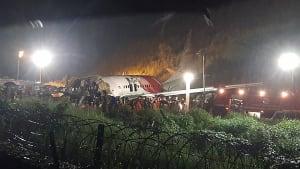 Boeing-Bruchlandung in Indien: Mindestens 16 Tote und 120 Verletzte