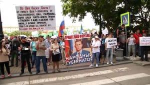 Russlands Osten begehrt auf: Anhaltende Proteste gegen Moskau