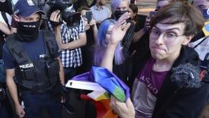 LGBTQ in Polen: Tausende demonstrieren gegen Verhaftung