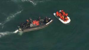Grenzkontrollen am Ärmelkanal: Migranten sollen gestoppt werden