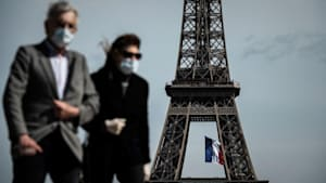 Paris: Maske oder Geldstrafe