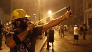 Libanon: Regierung tritt zurück - Proteste nicht beendet