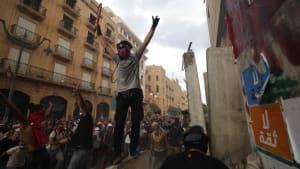 Wut im Libanon: Demonstranten prangern politische Elite an