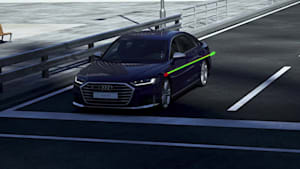 Audi SQ8 / S8 – Fahrwerkskomponenten Animation