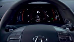 Der Hyundai Ioniq Elektro - Neue Materialien schaffen hochwertiges Ambiente