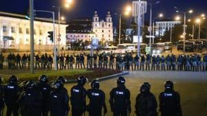Proteste und Polizeigewalt: Belarus kommt nicht zur Ruhe