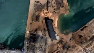 Explosion in Beirut: Diese Satelliten-Bilder zeigen das Ausmaß der Katastrophe