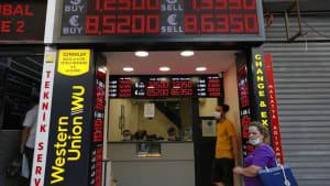 Run auf Wechselstuben: Türkische Lira verfällt