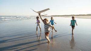 Vater fotografiert Kids mit Drohne: Dann bemerkt er erschreckendes Detail