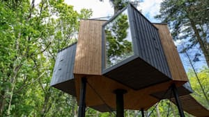 Welcome to Løvtag, the most beautiful treetop hotel in Denmark