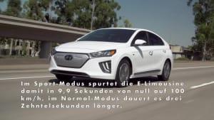 Der Hyundai Ioniq Elektro mit mehr Leistung und Reichweite