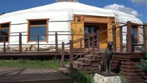Jurten-Hotel im Herzen der Mongolei