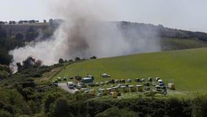 Nach schweren Regenfällen: Tödliches Zugunglück in Schottland