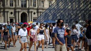 Covid-19-Zahlen steigen an - in Frankreich, Spanien, Deutschland, Griechenland...