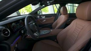 Der Mercedes-Benz E-Klasse - Das Interieur