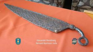 2000 Jahre altes Messer in Ungarn beschlagnahmt