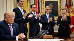 """""""Geschichtsträchtiger Augenblick"""": Trump vermittelt Abkommen zwischen VAE und Israel"""