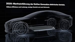 BMW Gen5 electric drivetrain. Animation