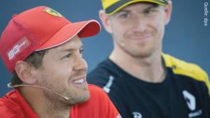 Irres Gerücht in der Formel 1: Wird Vettel während der Saison von einem deutschen Fahrer bei Ferrari ersetzt?