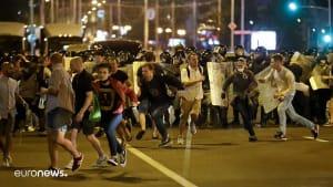 Bilder der Woche: Minsk, Los Angeles und Sternschnuppen